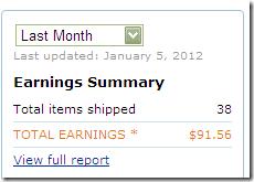 amazon earning
